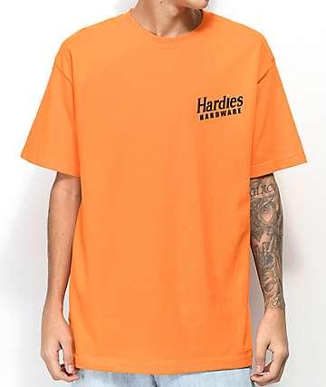 Hardies Hardware Domino camiseta naranja