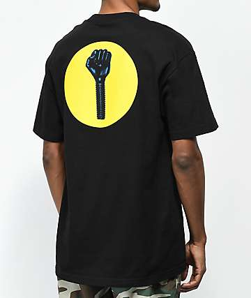 Hardies Hardware Stand Circle Logo Black T-Shirt