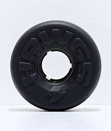 Hawgs Easy Hawgs Black 63mm 78a Longboard Wheels