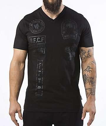 Headrush The Booster Black V-Neck T-Shirt
