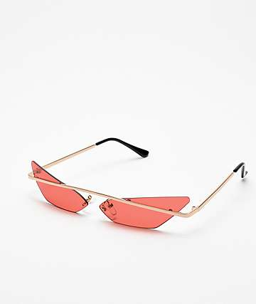 Heat Red Mini Sunglasses