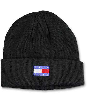 Hellz Bellz F*ck Boys Black Beanie