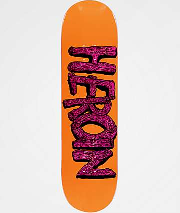"Heroin Skateboards Log 8.5"" Skateboard Deck"