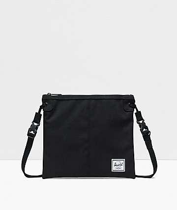 Herschel Alder Black Shoulder Bag