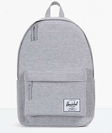 Herschel Classic XL mochila gris claro