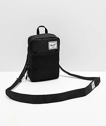 Herschel Sinclair Large 1.5L Black Shoulder Bag