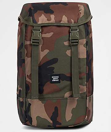 Herschel Supply Co Iona Woodland Camo 24L Backpack