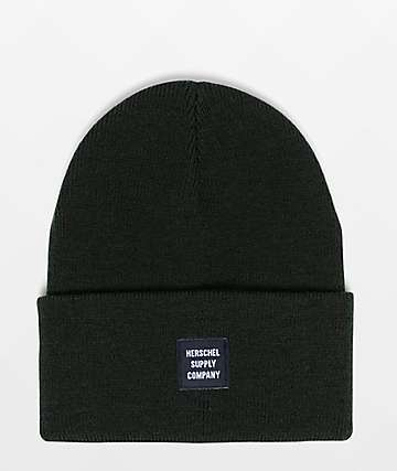 Herschel Supply Co. Abbot Dark Olive Beanie