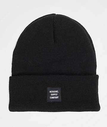 Herschel Supply Co. Abbott Black Beanie