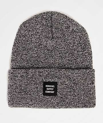 Herschel Supply Co. Abbott Heather Black Beanie
