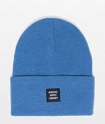 Herschel Supply Co. Abbott Riverside Blue Beanie