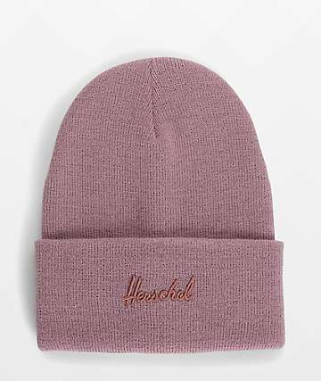 Herschel Supply Co. Aden Ash Rose Beanie