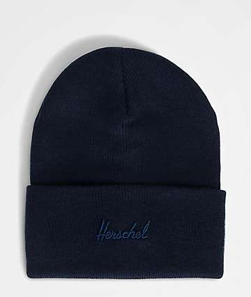 Herschel Supply Co. Aden Peacoat Blue Beanie
