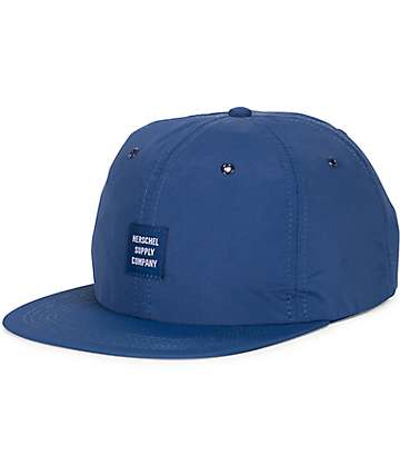 Herschel Supply Co. Albert Navy 6 Panel Strapback Hat