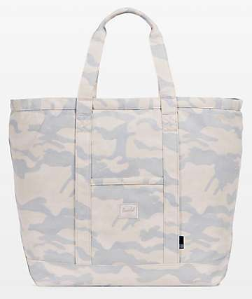 Herschel Supply Co. Bamfield Washed Camo Tote Bag