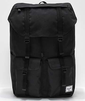 Herschel Supply Co. Buckingham Black Backpack