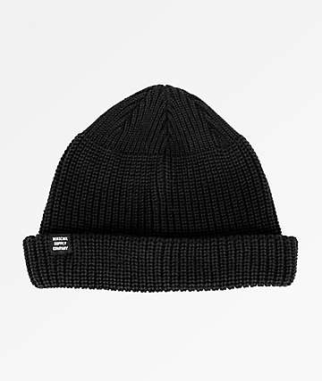 Herschel Supply Co. Buoy Black Beanie