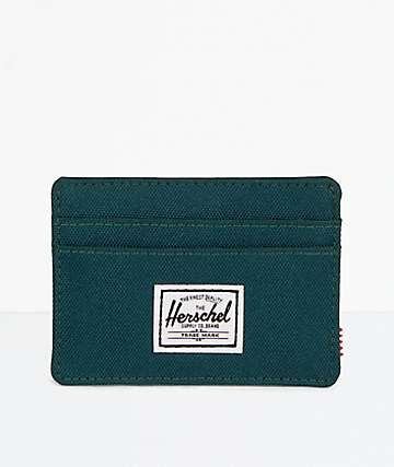 Herschel Supply Co. Charlie Deep Teal Cardholder Wallet