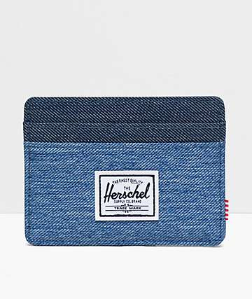 Herschel Supply Co. Charlie Denim Cardholder Wallet