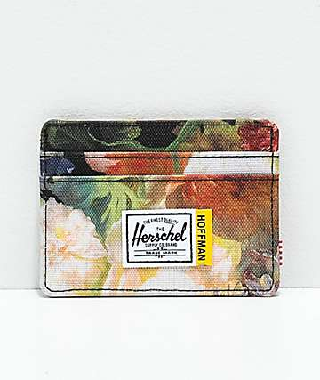 Herschel Supply Co. Charlie Hoffman Floral Cardholder Wallet