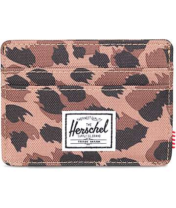 Herschel Supply Co. Charlie Leopard Cardholder