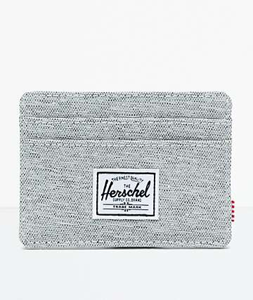 Herschel Supply Co. Charlie Light Grey Cardholder Wallet