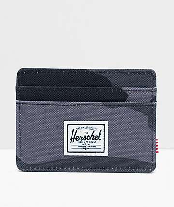 Herschel Supply Co. Charlie Night Camo Cardholder Wallet
