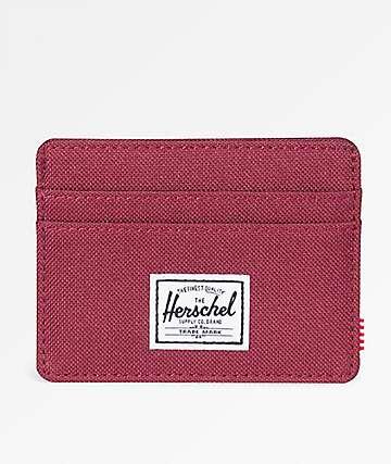 Herschel Supply Co. Charlie Windsor Wine Cardholder Wallet