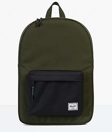 Herschel Supply Co. Classic Forest & Black Backpack