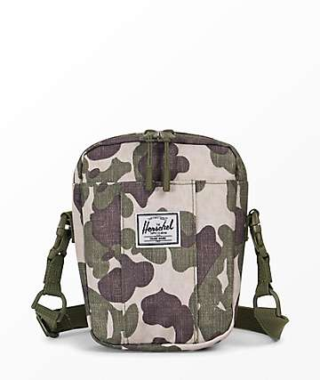 Herschel Supply Co. Cruz Frog Camo bolso de mano