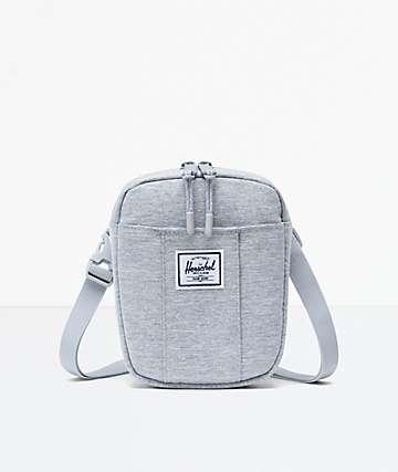 Herschel Supply Co. Cruz Light Grey Crossbody Bag