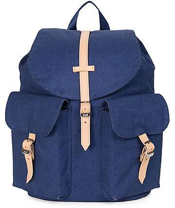 Herschel Supply Co. Dawson Womens Washed Denim 13L Backpack