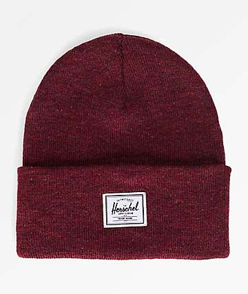 Herschel Supply Co. Elmer Windsor Wine Beanie
