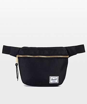 Herschel Supply Co. Fifteen Black 1.25L Fanny Pack