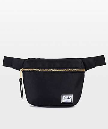 ed28beb02fb Herschel Supply Co. Fifteen Black 1.25L Fanny Pack