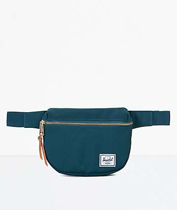Herschel Supply Co. Fifteen Deep Teal Fanny Pack