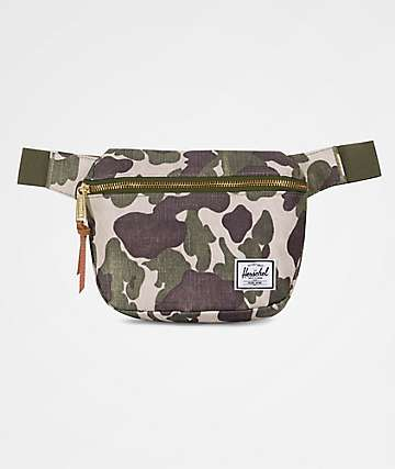 Herschel Supply Co. Fifteen Frog Camo 2L Fanny Pack