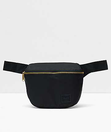 Herschel Supply Co. Fifteen Light Black Fanny Pack