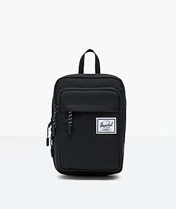 Herschel Supply Co. Form Large Black Crossbody Bag