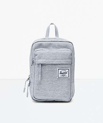 Herschel Supply Co. Form Large Light Grey Crossbody Bag