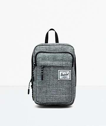 Herschel Supply Co. Form Large Raven Crosshatch Crossbody Bag