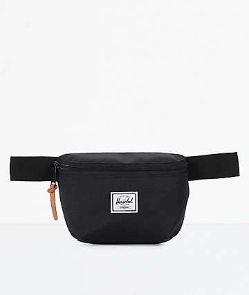 Herschel Supply Co. Fourteen Black Fanny Pack
