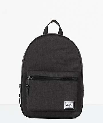 Herschel Supply Co. Grove Extra Small Black Crosshatch Backpack