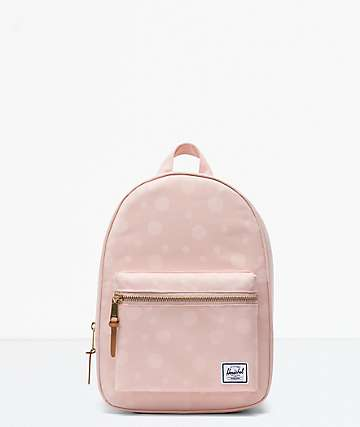Herschel Supply Co. Grove X-Small Polka Cameo Rose Mini Backpack