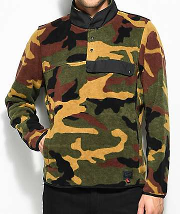 Herschel Supply Co. Guide Camo Pullover Tech Fleece