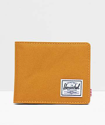 Herschel Supply Co. Hank Buckthorn Brown Bifold Wallet