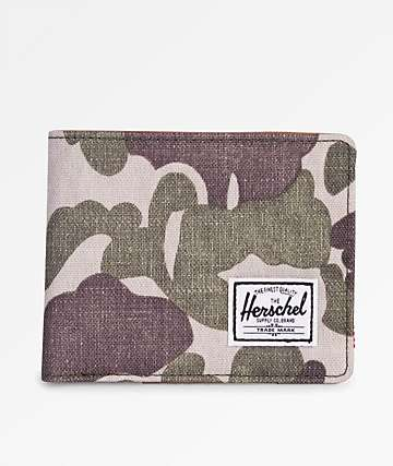 Herschel Supply Co. Hank Frog Camo Bifold Wallet