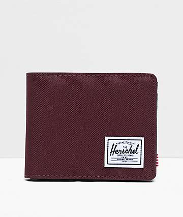 Herschel Supply Co. Hank Plum Bifold Wallet