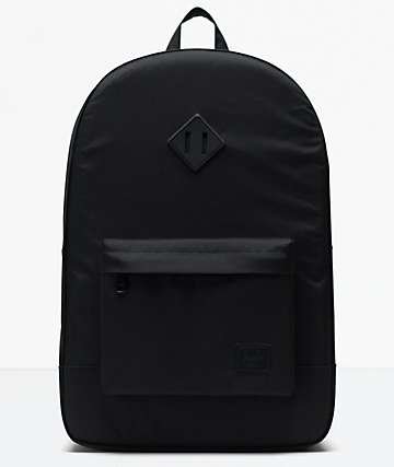 Herschel Supply Co. Heritage Light Black Backpack