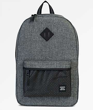 Herschel Supply Co. Heritage Raven Crosshatch Aspect 21.5L Backpack